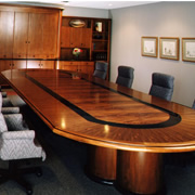 Ordinaire Woodpecker Enterprises: Mahogany Conference Table   Quintiles